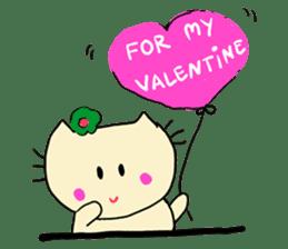 Dinkyneko & Friends #3 _Love & Valentine sticker #9877955