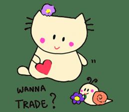 Dinkyneko & Friends #3 _Love & Valentine sticker #9877958