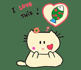 Dinkyneko & Friends #3 _Love & Valentine sticker #9877966