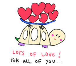 Dinkyneko & Friends #3 _Love & Valentine sticker #9877969