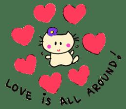 Dinkyneko & Friends #3 _Love & Valentine sticker #9877972