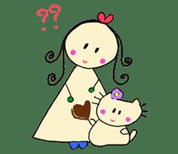 Dinkyneko & Friends #3 _Love & Valentine sticker #9877973