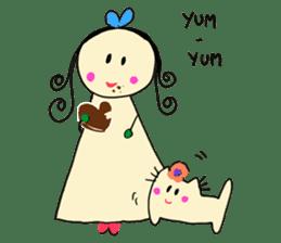 Dinkyneko & Friends #3 _Love & Valentine sticker #9877974