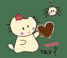 Dinkyneko & Friends #3 _Love & Valentine sticker #9877977