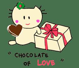 Dinkyneko & Friends #3 _Love & Valentine sticker #9877986