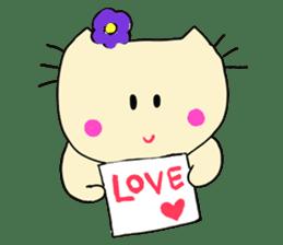 Dinkyneko & Friends #3 _Love & Valentine sticker #9877987