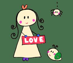 Dinkyneko & Friends #3 _Love & Valentine sticker #9877988