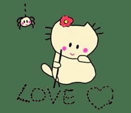 Dinkyneko & Friends #3 _Love & Valentine sticker #9877989