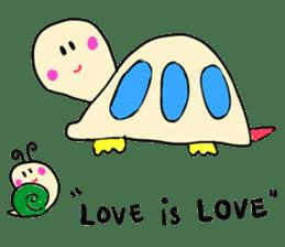 Dinkyneko & Friends #3 _Love & Valentine sticker #9877991
