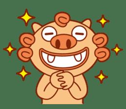 Okinawa Sticker MAHAE, CHIM, KUKURU sticker #9883605