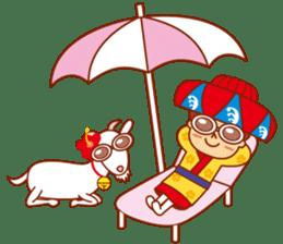 Okinawa Sticker MAHAE, CHIM, KUKURU sticker #9883627