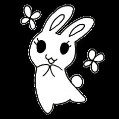 Bunny graffiti