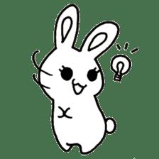 Bunny graffiti sticker #9887160