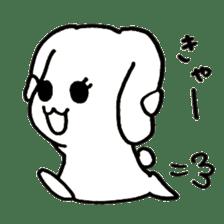 Bunny graffiti sticker #9887162