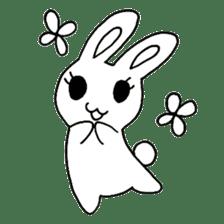Bunny graffiti sticker #9887164