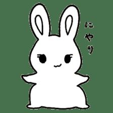 Bunny graffiti sticker #9887167