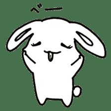 Bunny graffiti sticker #9887183