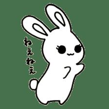 Bunny graffiti sticker #9887188