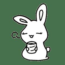 Bunny graffiti sticker #9887189