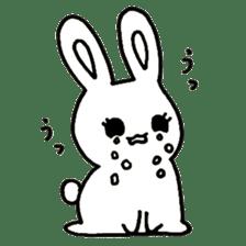 Bunny graffiti sticker #9887194