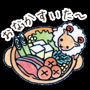 สติ๊กเกอร์ไลน์ animal X food Sticker