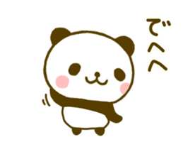 jyare panda 9 sticker #9895243