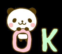 jyare panda 9 sticker #9895245