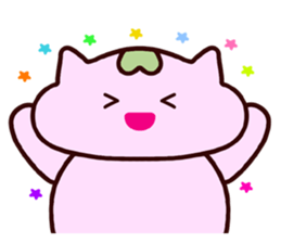 "Macrocosm's Healing Bird Cat Elf ""NAYOC"" sticker #9896923"