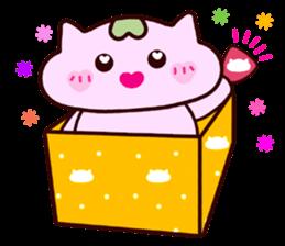 "Macrocosm's Healing Bird Cat Elf ""NAYOC"" sticker #9896926"