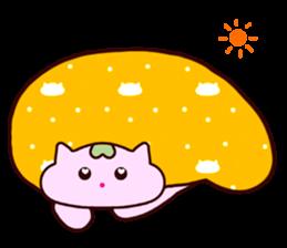 "Macrocosm's Healing Bird Cat Elf ""NAYOC"" sticker #9896929"