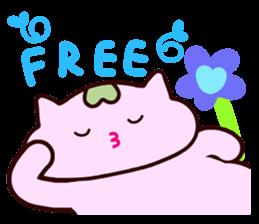 "Macrocosm's Healing Bird Cat Elf ""NAYOC"" sticker #9896935"