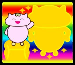 "Macrocosm's Healing Bird Cat Elf ""NAYOC"" sticker #9896938"