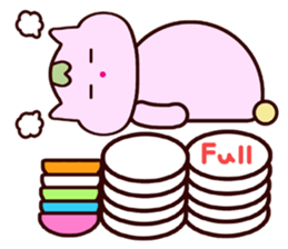 "Macrocosm's Healing Bird Cat Elf ""NAYOC"" sticker #9896940"