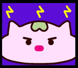 "Macrocosm's Healing Bird Cat Elf ""NAYOC"" sticker #9896945"