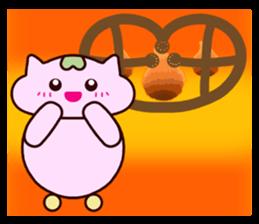 "Macrocosm's Healing Bird Cat Elf ""NAYOC"" sticker #9896947"
