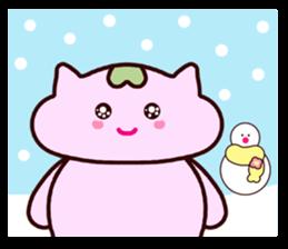 "Macrocosm's Healing Bird Cat Elf ""NAYOC"" sticker #9896949"