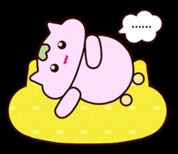 "Macrocosm's Healing Bird Cat Elf ""NAYOC"" sticker #9896952"