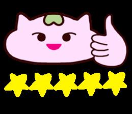 "Macrocosm's Healing Bird Cat Elf ""NAYOC"" sticker #9896956"
