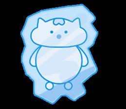 "Macrocosm's Healing Bird Cat Elf ""NAYOC"" sticker #9896958"