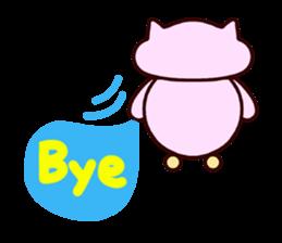 "Macrocosm's Healing Bird Cat Elf ""NAYOC"" sticker #9896959"