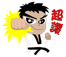 TKD NO1 sticker #9898707