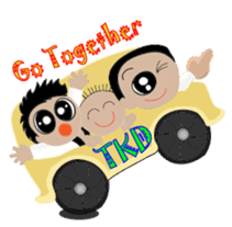 TKD NO1 sticker #9898719