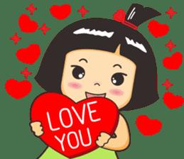 Nong luk chub sticker #9906677