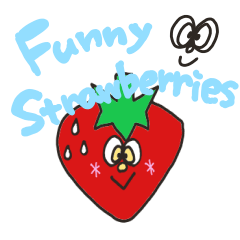 Funny strawberries