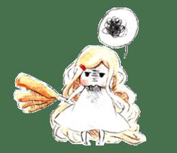 Ramen Girl, Tama sticker #9909000
