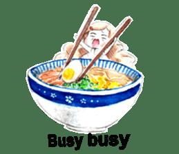 Ramen Girl, Tama sticker #9909011