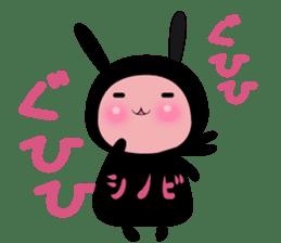 SHINOBI rabbit sticker #9910121
