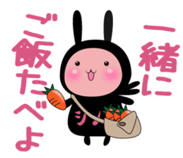 SHINOBI rabbit sticker #9910131