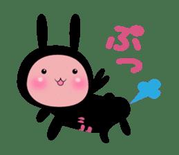SHINOBI rabbit sticker #9910133