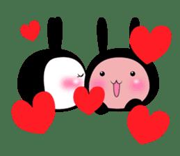 SHINOBI rabbit sticker #9910138